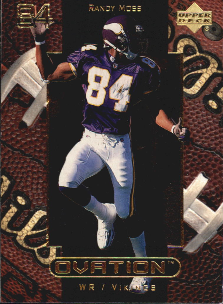 1999 Upper Deck Ovation #32 Randy Moss