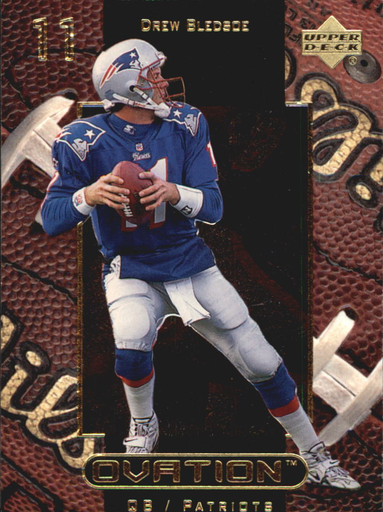 1999 Upper Deck Ovation #33 Drew Bledsoe