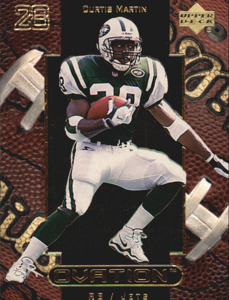 1999 Upper Deck Ovation #39 Curtis Martin