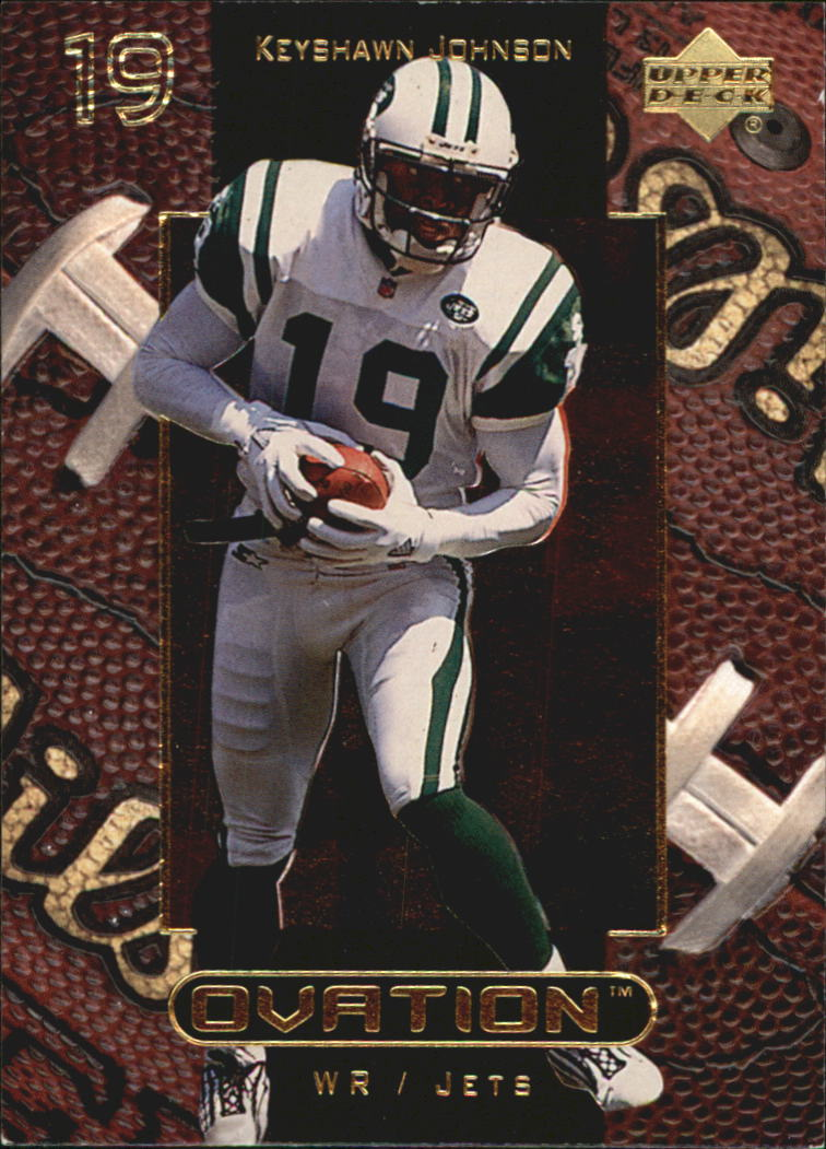 1999 Upper Deck Ovation #40 Keyshawn Johnson