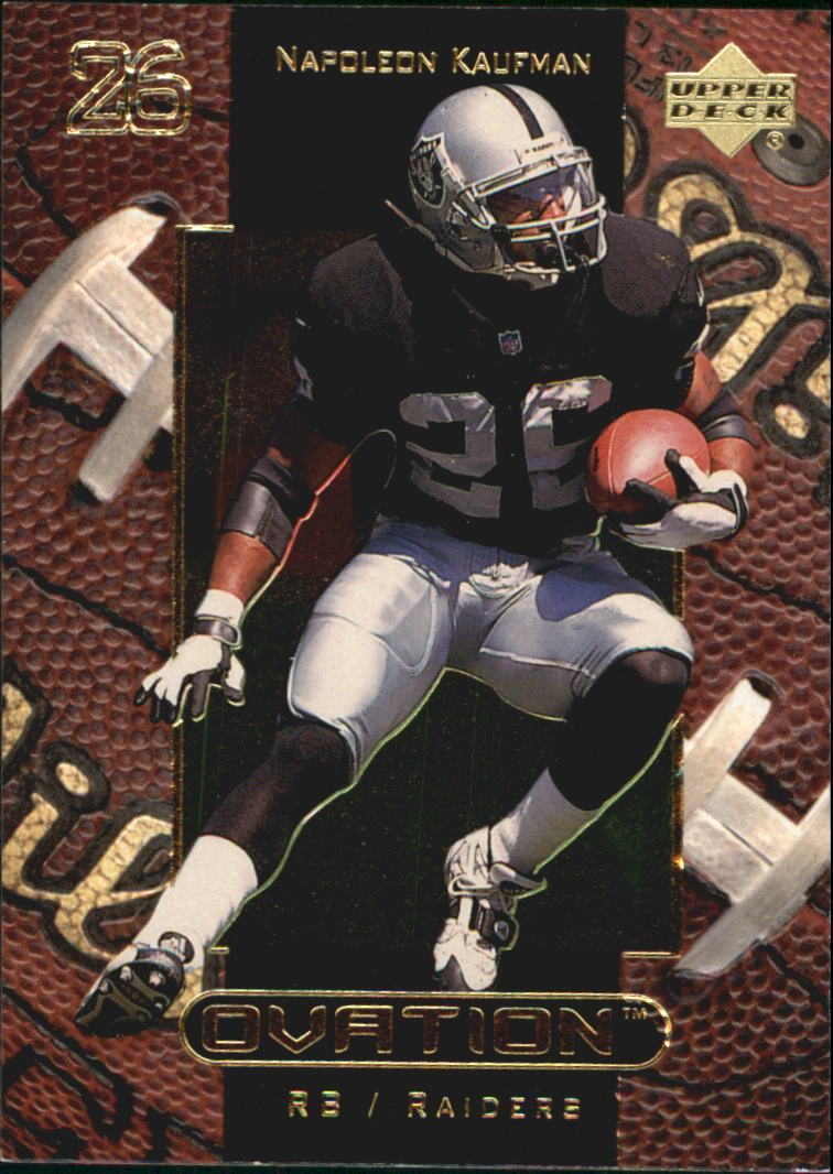 1999 Upper Deck Ovation #41 Napoleon Kaufman
