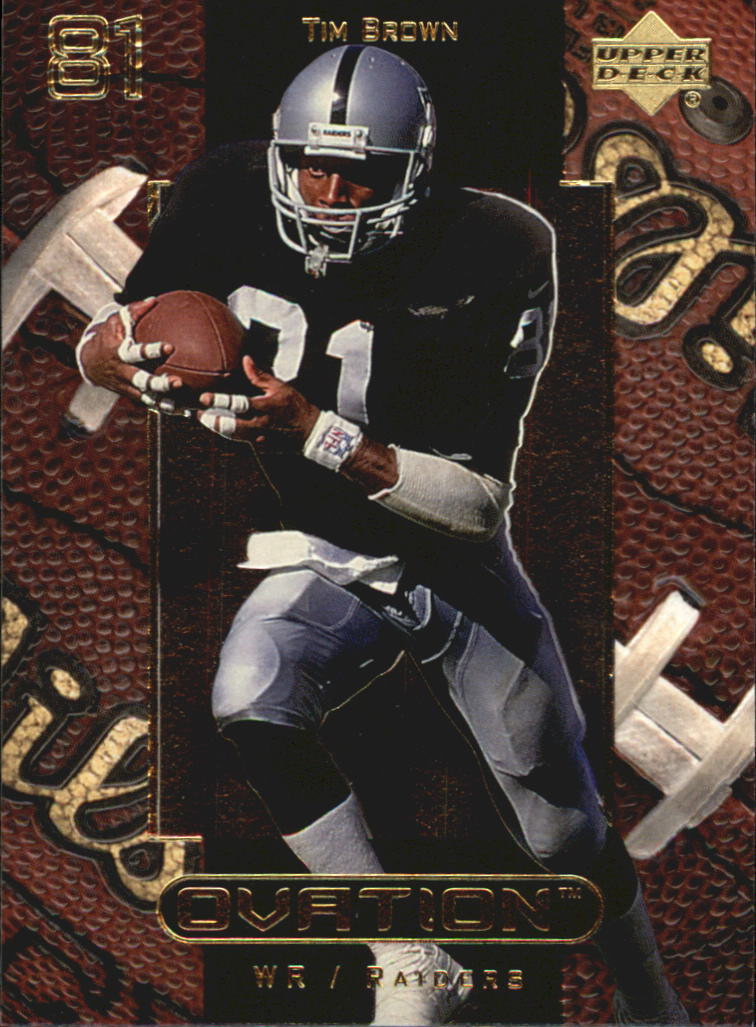 1999 Upper Deck Ovation #42 Tim Brown