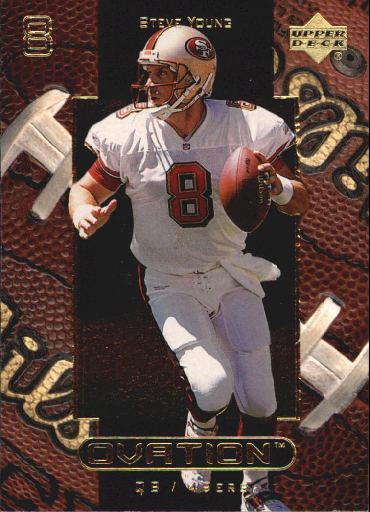 1999 Upper Deck Ovation #51 Steve Young