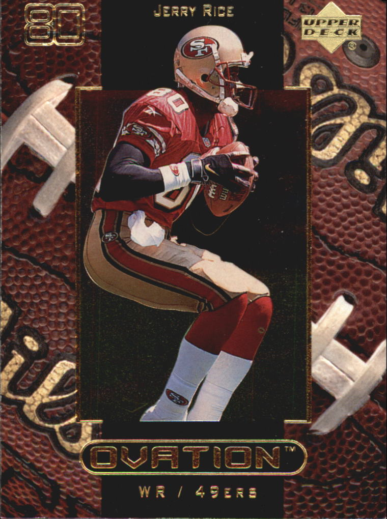 1999 Upper Deck Ovation #52 Jerry Rice