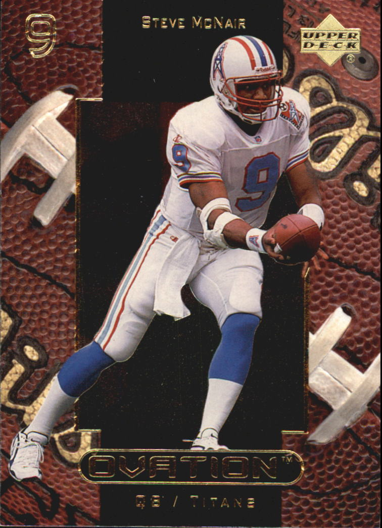 1999 Upper Deck Ovation #57 Steve McNair