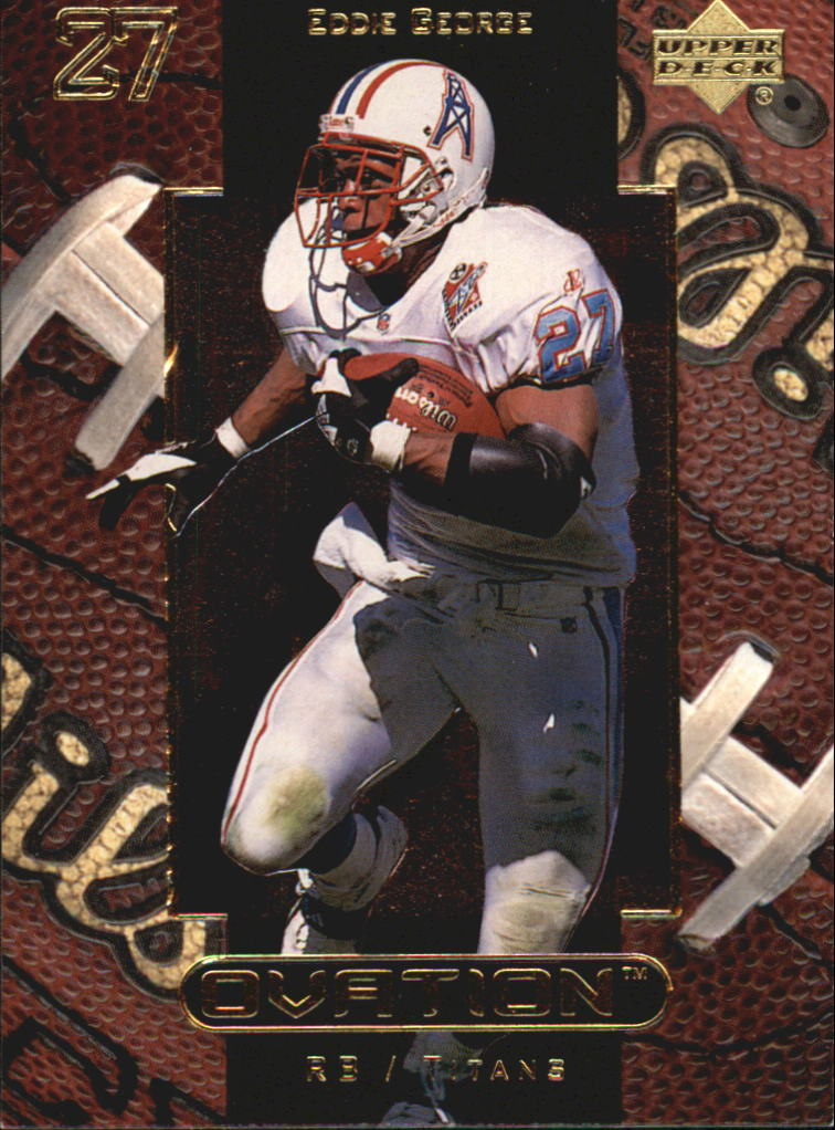 1999 Upper Deck Ovation #58 Eddie George