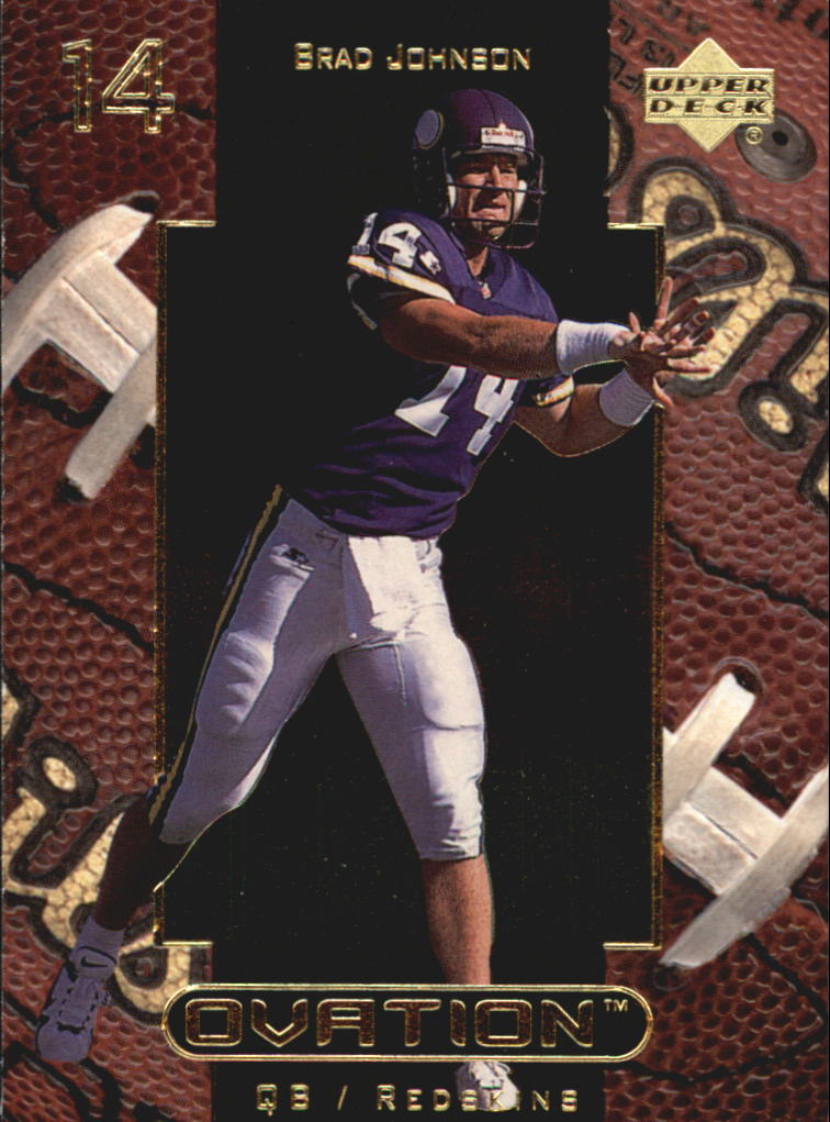 1999 Upper Deck Ovation #59 Brad Johnson
