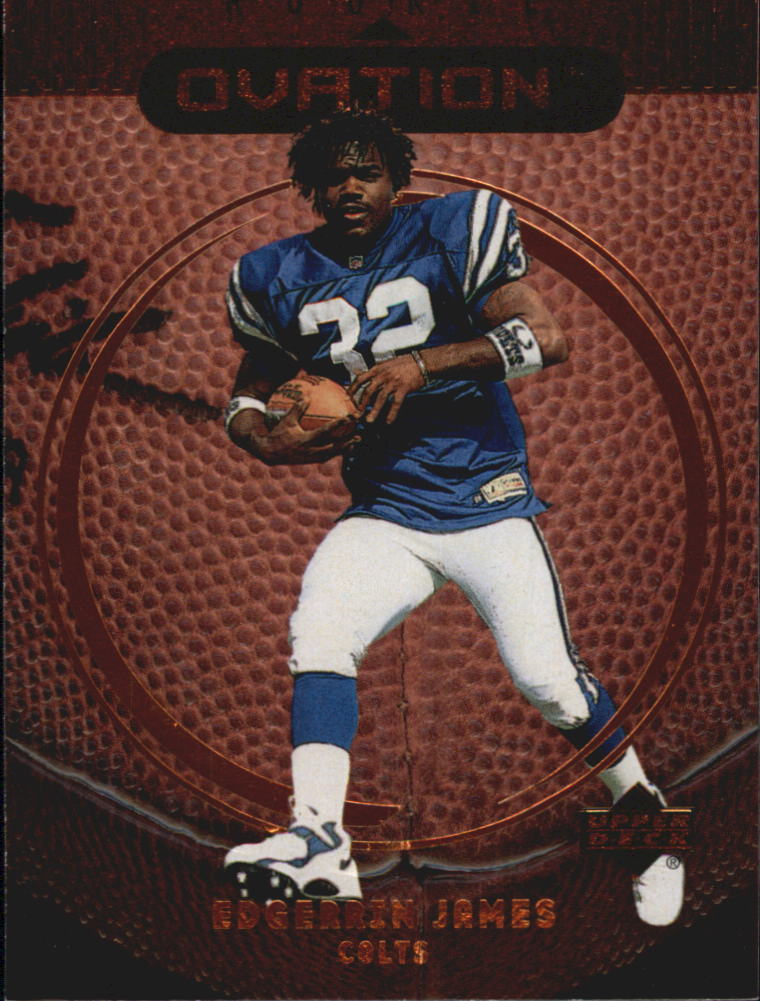 1999 Upper Deck Ovation #64 Edgerrin James RC