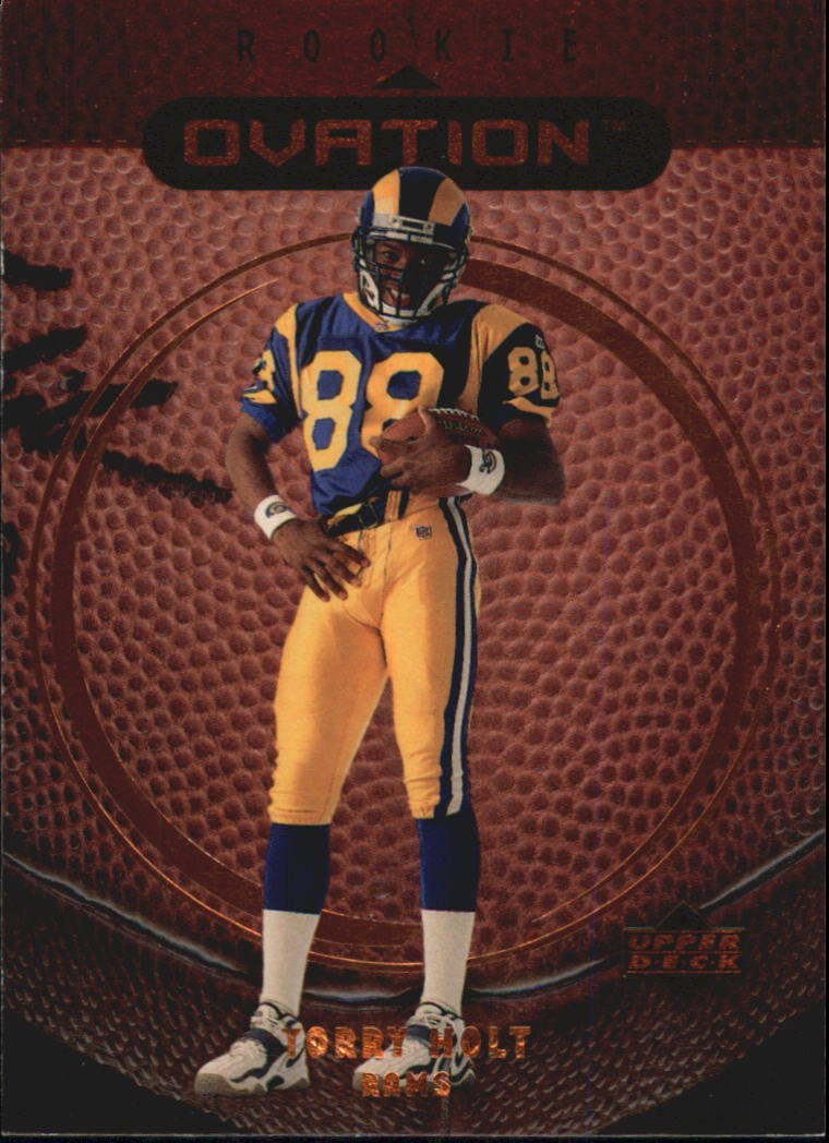 1999 Upper Deck Ovation #66 Torry Holt RC