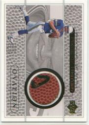 1999 Upper Deck Ovation A Piece of History #BHH Brock Huard