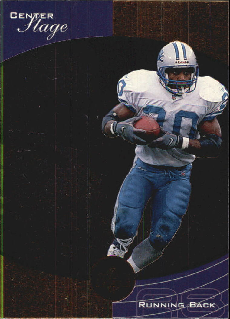 1999 Upper Deck Ovation Center Stage #CS2 Barry Sanders