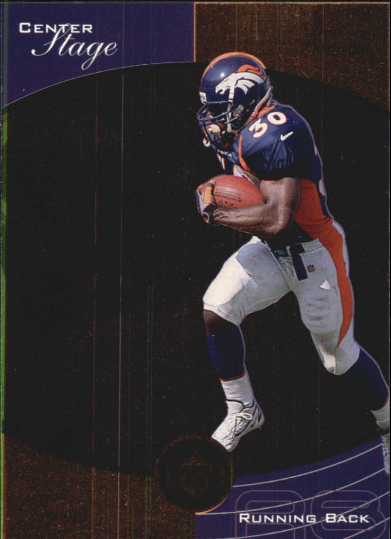 1999 Upper Deck Ovation Center Stage #CS4 Terrell Davis