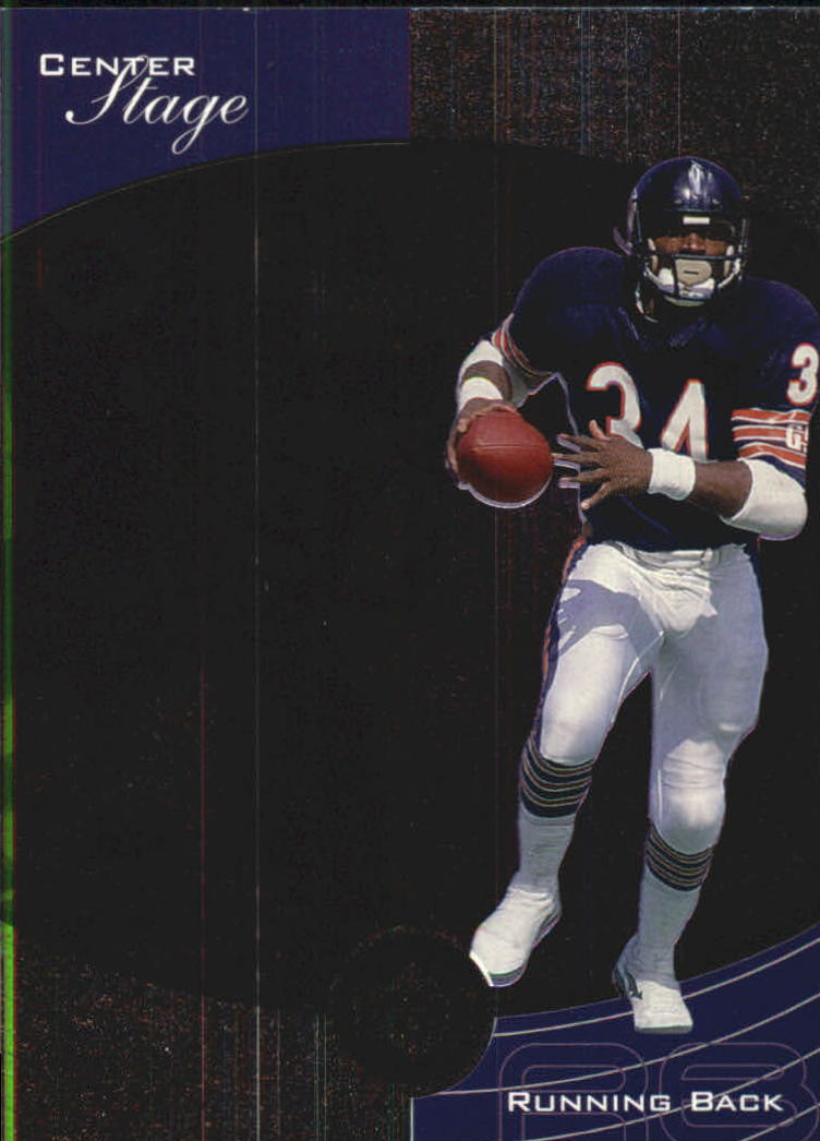 1999 Upper Deck Ovation Center Stage #CS9 Walter Payton