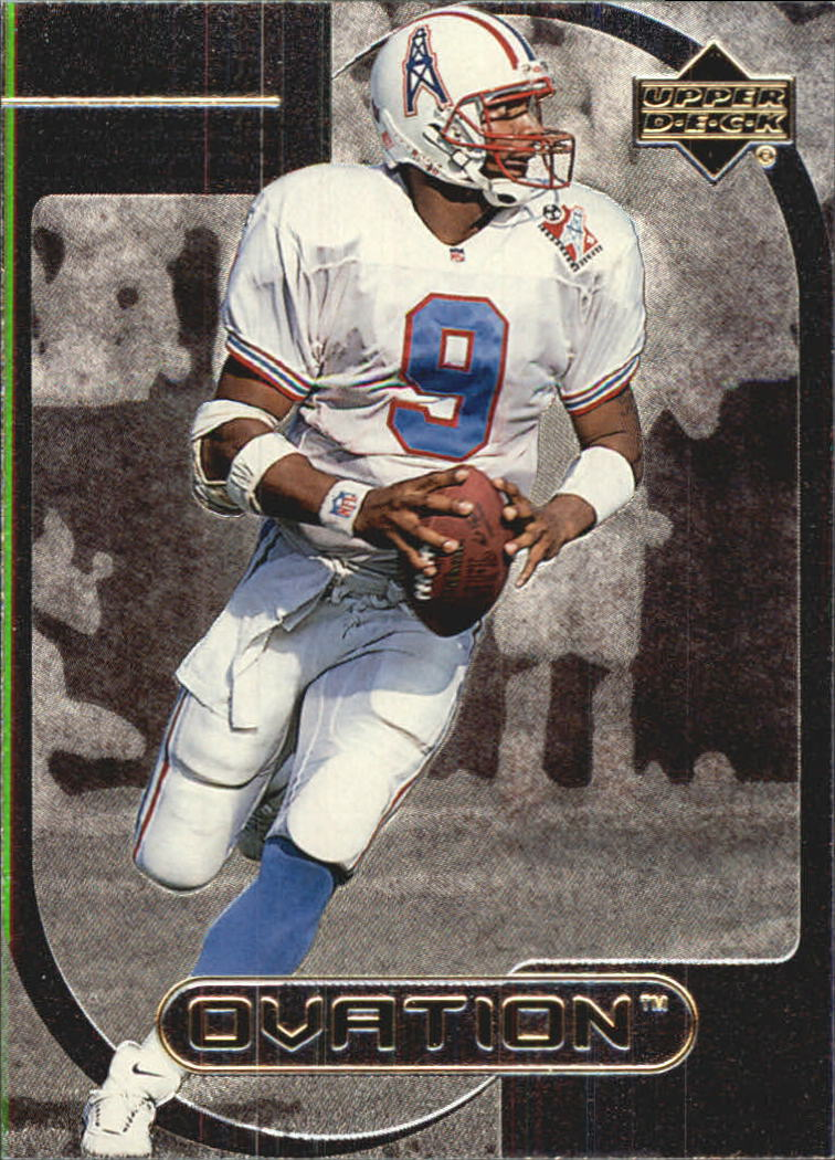 1999 Upper Deck Ovation Curtain Calls #CC9 Steve McNair
