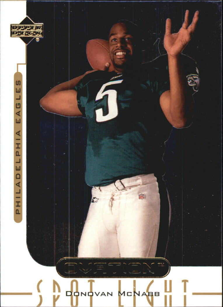 1999 Upper Deck Ovation Spotlight #OS2 Donovan McNabb