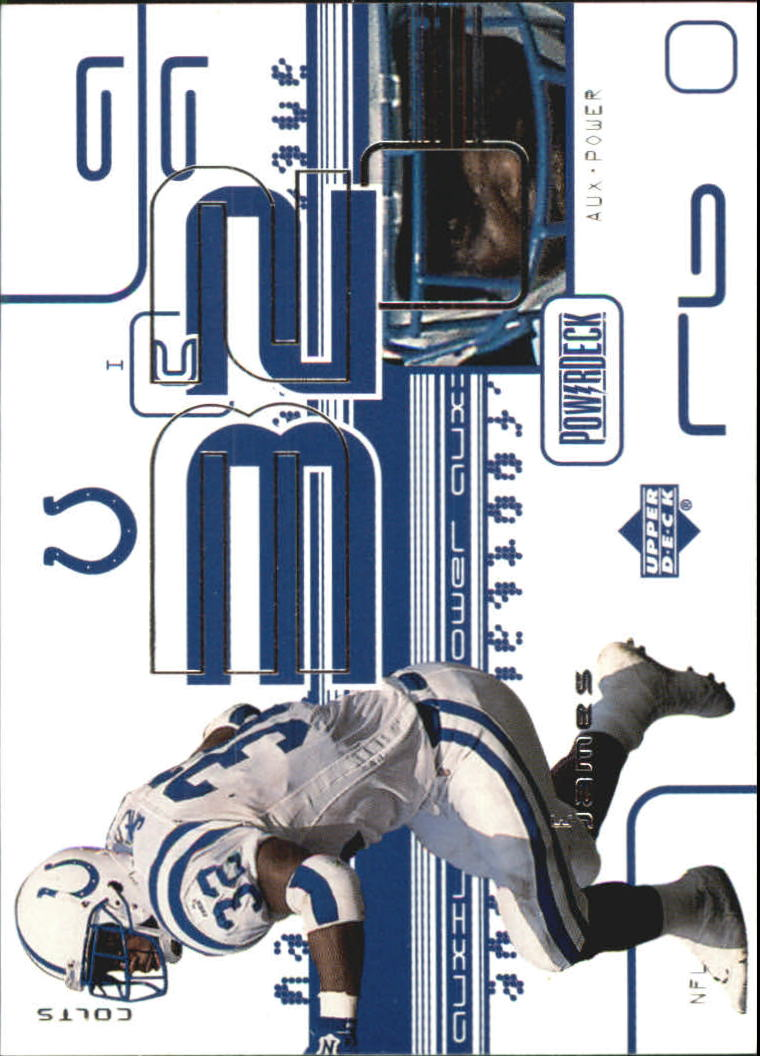 1999 Upper Deck PowerDeck Auxiliary #AUX24 Edgerrin James