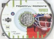 1999 Upper Deck PowerDeck Powerful Moments #P3 John Elway