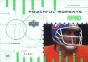 1999 Upper Deck PowerDeck Powerful Moments Auxiliary #P3 John Elway