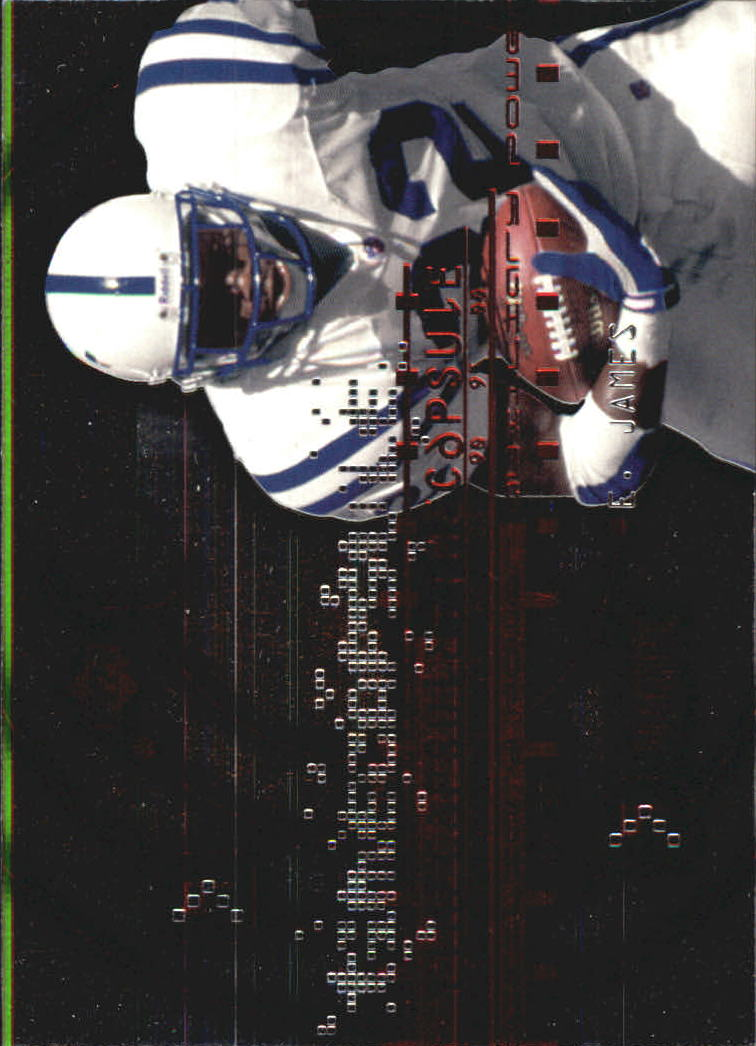 1999 Upper Deck PowerDeck Time Capsule Auxiliary #T1 Edgerrin James