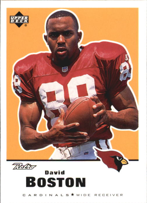 1999 Upper Deck Retro #5 David Boston RC