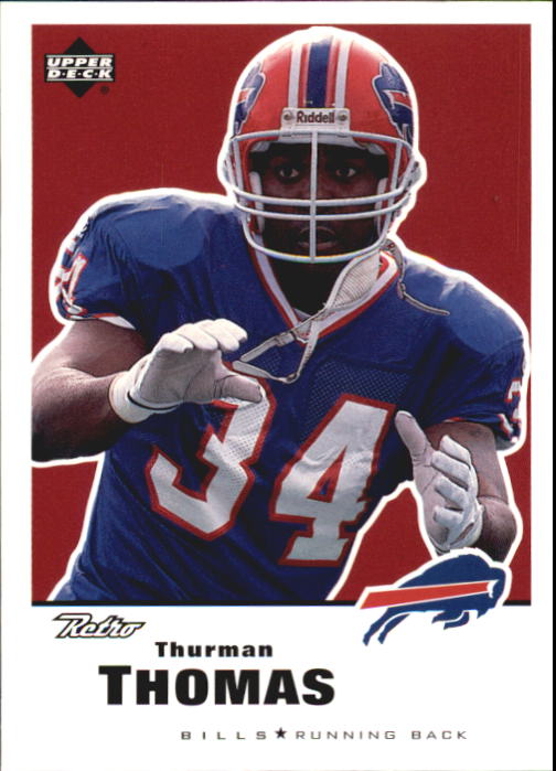 1999 Upper Deck Retro #19 Thurman Thomas