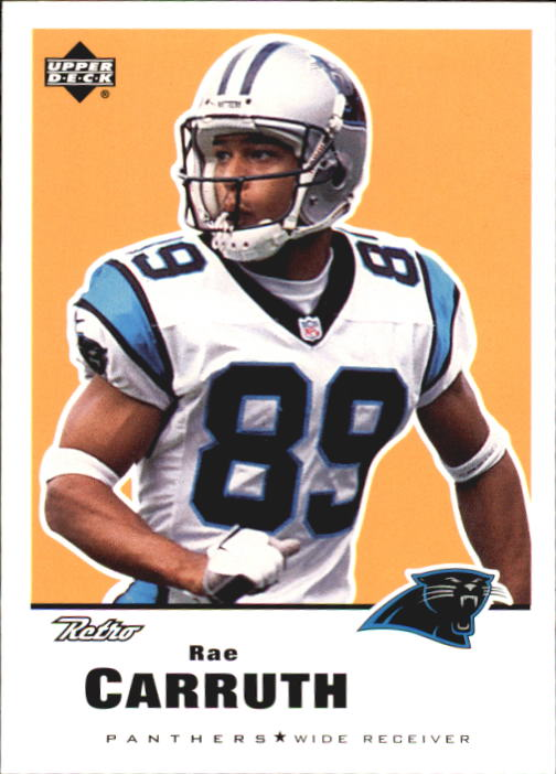 1999 Upper Deck Retro #25 Rae Carruth
