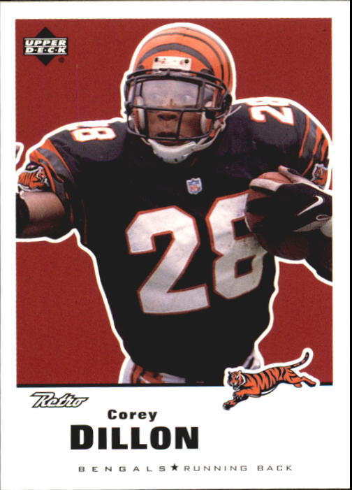 1999 Upper Deck Retro #33 Corey Dillon
