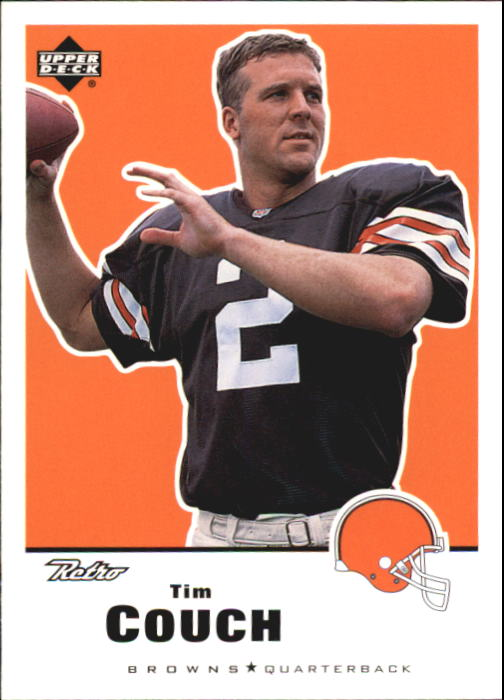 1999 Upper Deck Retro #36 Tim Couch RC