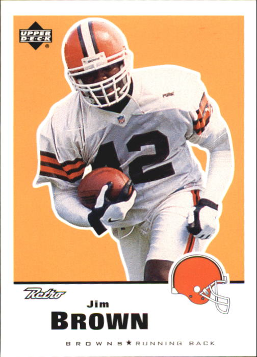 1999 Upper Deck Retro #38 Jim Brown UER