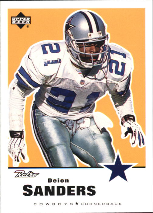 1999 Upper Deck Retro #45 Deion Sanders