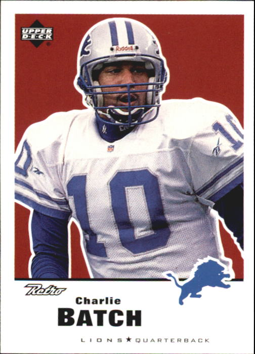 1999 Upper Deck Retro #53 Charlie Batch