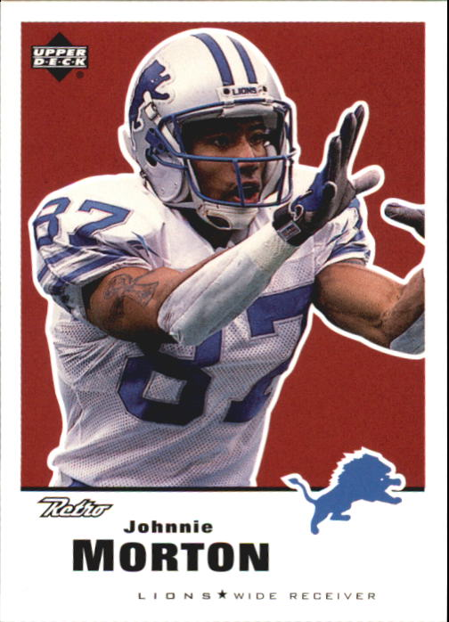 1999 Upper Deck Retro #54 Johnnie Morton