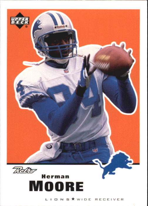 1999 Upper Deck Retro #57 Herman Moore