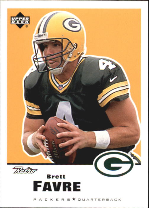 1999 Upper Deck Retro #58 Brett Favre