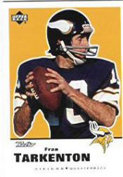 1999 Upper Deck Retro #87 Fran Tarkenton front image