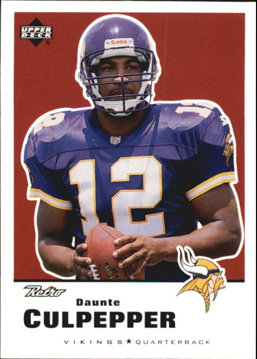 1999 Upper Deck Retro #88 Daunte Culpepper RC