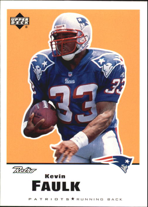 1999 Upper Deck Retro #92 Kevin Faulk RC