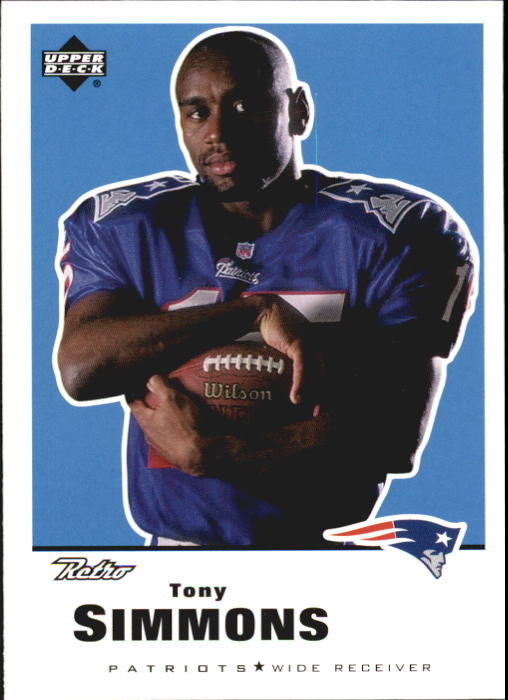 1999 Upper Deck Retro #93 Tony Simmons