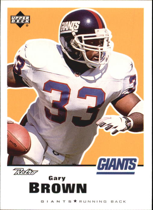 1999 Upper Deck Retro #102 Gary Brown