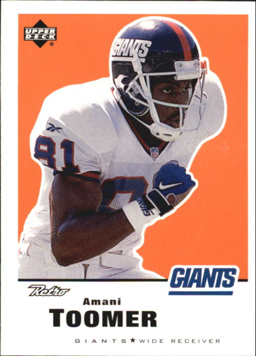 1999 Upper Deck Retro #104 Amani Toomer