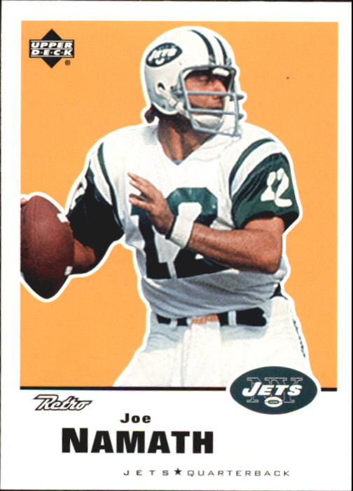 1999 Upper Deck Retro #108 Joe Namath