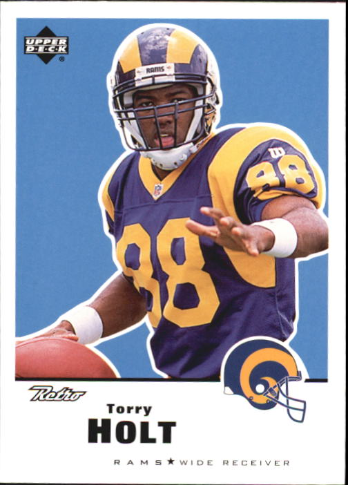 1999 Upper Deck Retro #131 Torry Holt RC