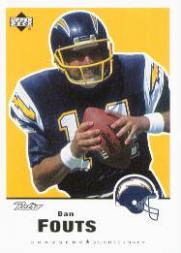 1999 Upper Deck Retro #137 Dan Fouts