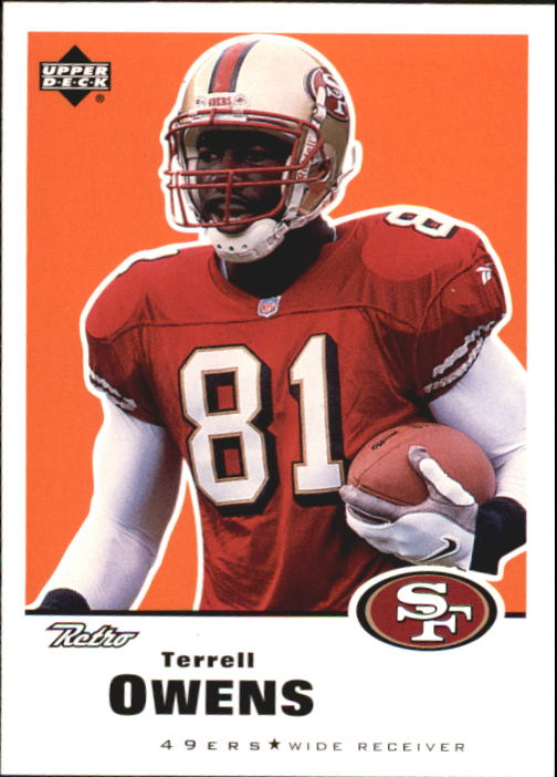 1999 Upper Deck Retro #140 Terrell Owens