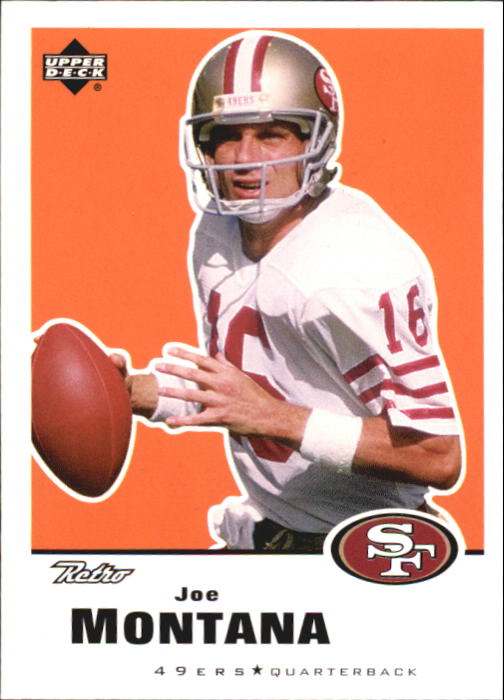 1999 Upper Deck Retro #144 Joe Montana front image