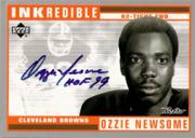 1999 Upper Deck Retro Inkredible #OZ Ozzie Newsome front image