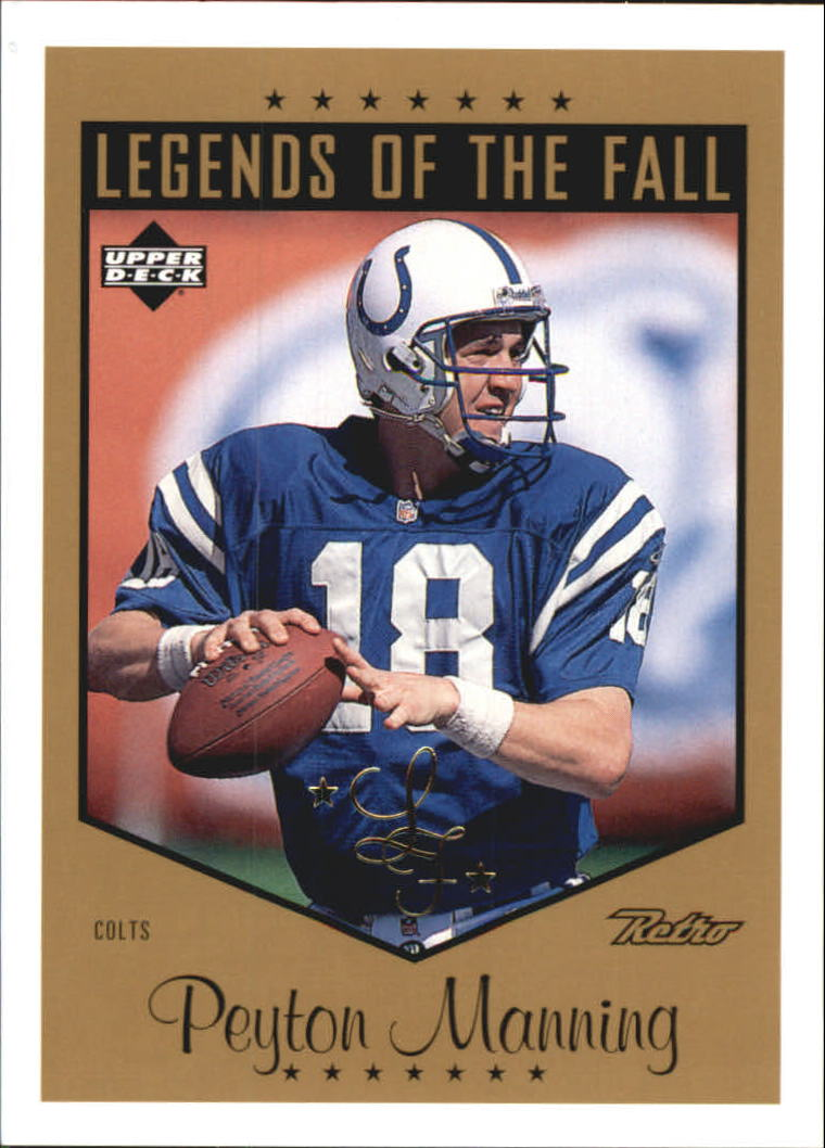 1999 Upper Deck Retro Legends of the Fall #L28 Peyton Manning