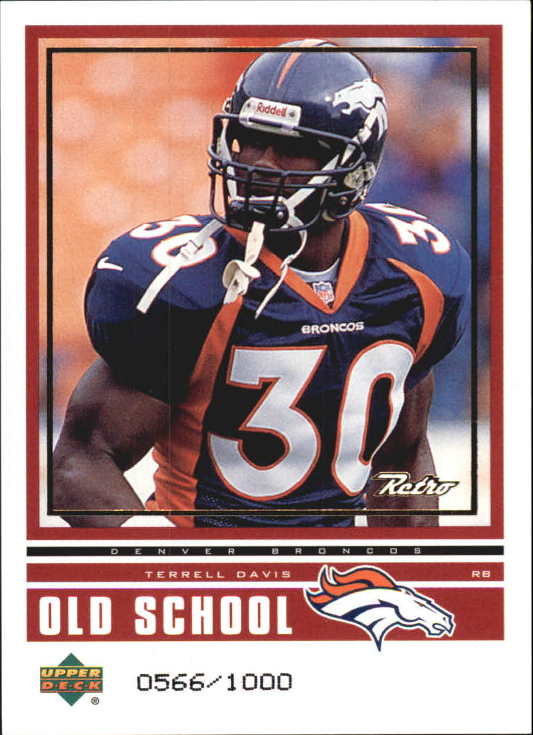 1999 Upper Deck Retro Old School/New School #ON1 T.Davis/R.Williams