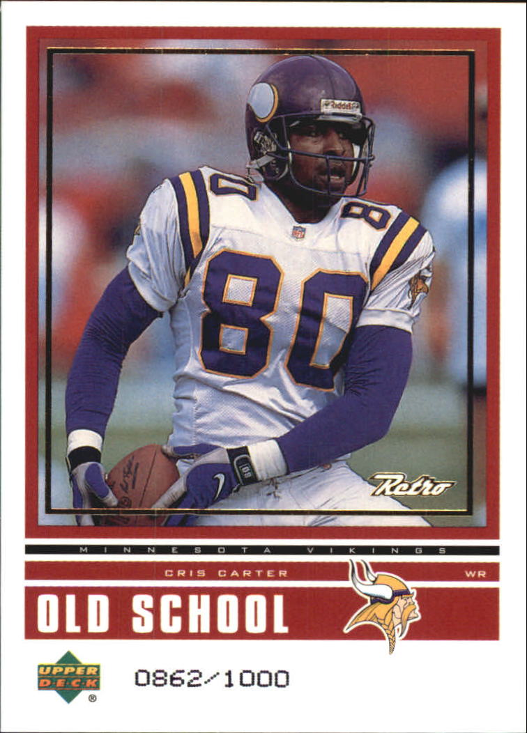 1999 Upper Deck Retro Old School/New School #ON3 C.Carter/R.Moss