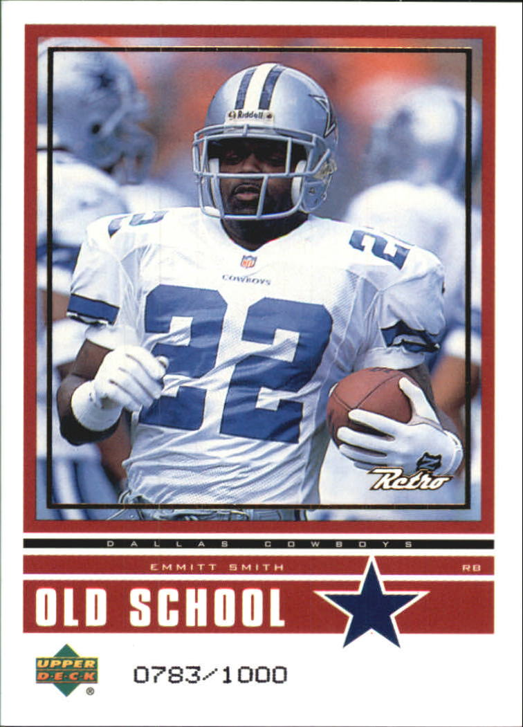 1999 Upper Deck Retro Old School/New School #ON6 E.Smith/F.Taylor